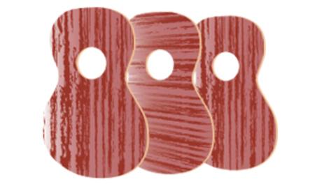 万円台のウクレレの特徴②ほとんどが合板で作られている