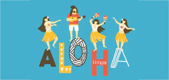 アロハオエの踊り方|フラダンスの振り付け