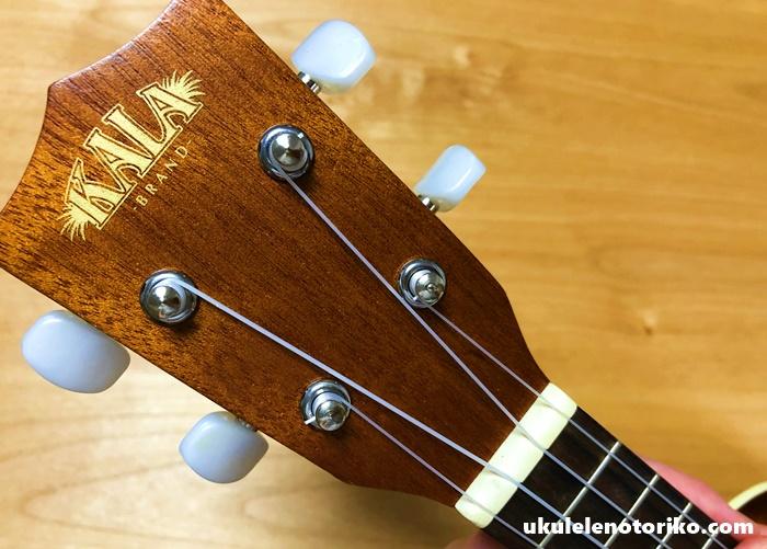 KALA「KA-S」ウクレレのヘッド