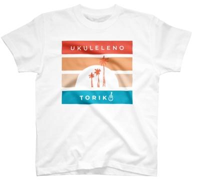 ウクトリアロハなTシャツ(ホワイト)