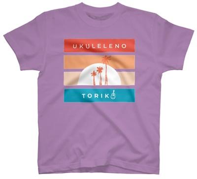 ウクトリアロハなTシャツ(ラベンダー)